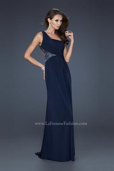 Shop La Femme evening gowns and prom dresses at Simply Dresses. Designer prom gowns, celebrity dresses, graduation and homecoming party dresses. Marine Ball Dresses, Navy Prom Dresses, Open Back Prom Dresses, Cheap Prom Dresses, Long Dresses, Dress Prom, Women's Dresses, Party Dress, Evening Dresses 2014