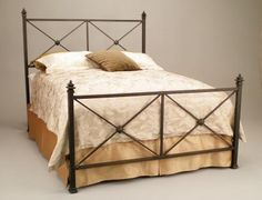 Clairmont Iron Bed at Benicia Iron Works