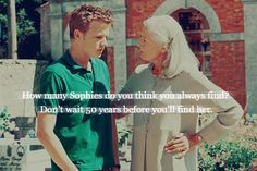 Letters to Juliet~ How Many Sophie's Do You Think There Are In This World?