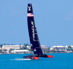 Oracle-current Cup holders Americas Cup Bermuda 2017 Scott Stallard