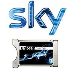 pack sky italia hd complet (mondo + sport + cinema + calcio) - 12 mois + module pcmcia unicam unicrypt