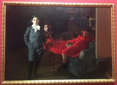 Mis hijos (Museo Sorolla, Madrid Spain, 12/16) A sort of homage to Velasquez's 'Las Meninas'
