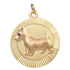 1stdibs | Tiffany & Co. Terrier Charm/pendant-circa 1930-who doesn't love a terrier!