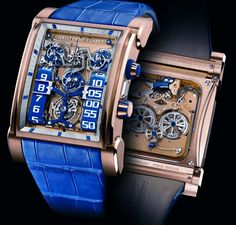 DualTow Watch by Christophe Claret    http://www.wearyourlifestyle.com/blog-Top-20-Unique-Watches.html