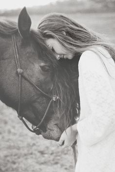 The essential things in life are found in moments like this. Horse