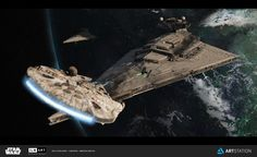 "ILM Art Department Challenge ""The Moment"" , Dimitrije Miljus on ArtStation at https://www.artstation.com/artwork/QgYAB"