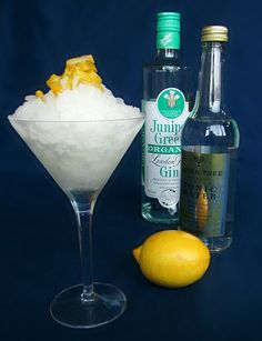 This is the next boozy granita I plan to make for Ice Cream 2012.