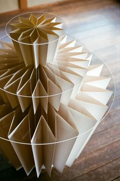 Kamijiya Paper Table by Miso Son.