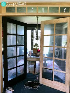Advice, tactics, also resource with regards to receiving the most effective outcome and making the maximum use of french doors bedroom French Doors Bedroom, French Door Curtains, French Doors Patio, Black French Doors, Black Interior Doors, Indoor Doors, Door Design, Windows And Doors, New Homes