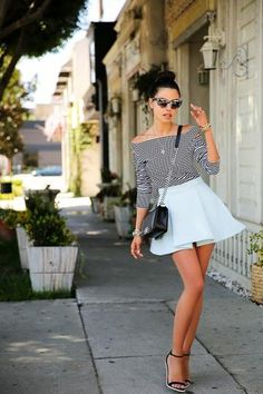 Trend to Copy: Summer Stripes on Fashion Bloggers | StyleCaster