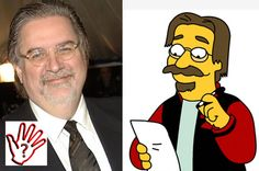 Matt Groening (second posted picture...with added cartoon)