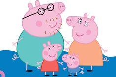 Pig Family, Family Wall, Finger Family, Peppa Pig Familie, Familia Pig, Peppa Pig Imagenes, Peppa Pig Wallpaper, Pig Png, Halloween Stuff