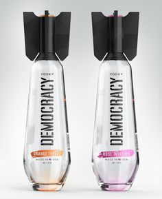 DEMOCRACY Vodka (Concept) on Packaging of the World - Creative Package Design Gallery