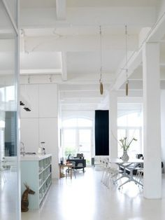 A warehouse loft is the perfect home