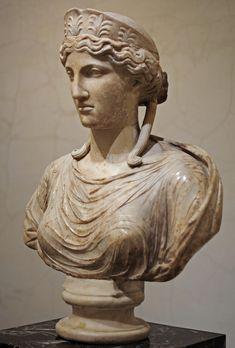 Bust of Nike, a 2nd century Roman sculpture after a 430s B.C. Ancient Greek original