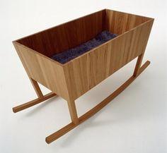 Home Design and Interior Design Gallery of Modern Wooden Cradle For Baby Wooden Cradle, Wood Crib, Plywood Projects, Interior Design Gallery, Interior Modern, Rock A Bye Baby, Modern Crib, One Bed, Kids Room Design