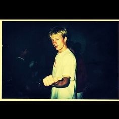 Old picture of Jon Foreman, frontman for Switchfoot.