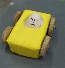 Image result for egg crash car