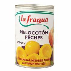 Melocotón en Almíbar Ligero Mitades, 5-7 Frutos, Calidad Extra  Origen: La Rioja, Peso bruto: 500 gr., Peso neto: 420 gr., Peso escurrido: 240 gr., Envase: Lata 425 Abrefácil - See more at: http://www.labuenamesa.eu/index.php?id_product=44&controller=product&id_lang=1#sthash.OYMUA3z1.dpuf