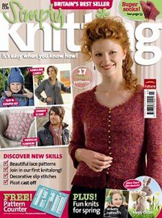 Ravelry: Simply Knitting 39, Spring 2008