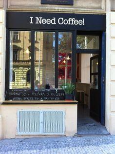 I Need Coffee! in Praha
