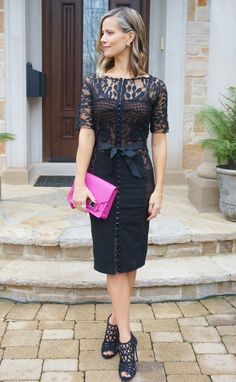 little black dress // date night style // mama style
