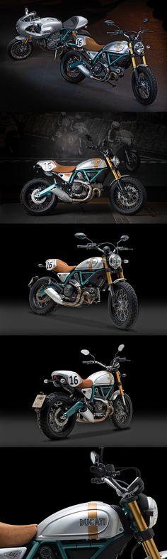 Ducati Scrambler - Paul Smart Edition