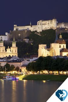"""Salzburgo, Viena, la Roma de los Alpes, """"una de las más bellas ciudades del mundo"""", según Alejandro de Humboldt. #PonteaViajar"""