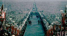 Nuremberg Rally, 1933 or Germany Ww2, East Germany, Nuremberg Rally, Berlin, Georgia Country, German Uniforms, It's Going Down, Family Movies, Military History