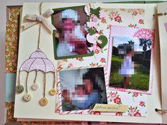 Álbum de Carlota #scrapbooking #book #details #conmanosdepapel