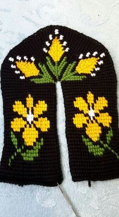 Crochet Tapestry Shoes