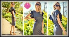 Kimbell Dress in Charcoal