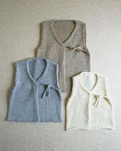 Linen Vest for Babies