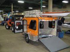 Image result for cargo trailer camper conversion