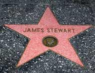 James Stewart's Hollywood Walk of Fame Star--East side of the 1700 block of Vine Street Hollywood Star Walk, Hollywood Boulevard, Golden Age Of Hollywood, Vintage Hollywood, Classic Hollywood, Look At This Photograph, The Philadelphia Story, Foot Prints, Star Images