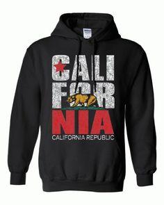 The Classic California Republic Logo State Flag Hoodie!