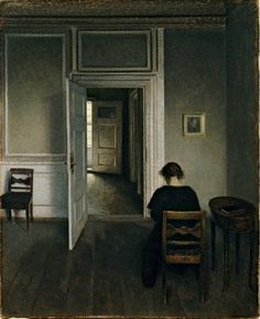 Vilhelm Hammershøi: the poetry of silence | Art and design | The Guardian