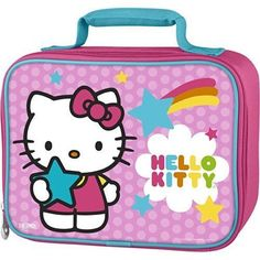 d6016f7780bc Pre School Kids Thermos Soft Lunch Kit Hello Kitty Girls Superior Quality