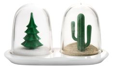Amazon.com: Qualy Winter Summer Salt & Pepper Shaker Set: Kitchen & Dining