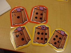 Mrs. Huff's Kinderblog- adding and recording groceries