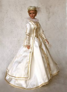 historical dolls | Arrayed in Gold: Historical Dolls (Empresses and Queens)