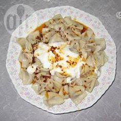 Photo recette : Manti (Raviolis turques)