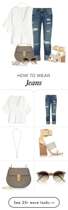 """casual jeans"" by stacy-gustin on Polyvore"
