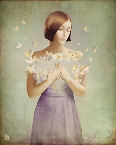Anything can happen in a world that holds such beauty - Christian Schloe is a talented Chilean artist whose work includes digital art, painting, illustration, and photography. Fantasy Kunst, Fantasy Art, Digital Painter, Digital Art, Illustrator, He Loves Me, Surreal Art, Contemporary Art, Art Photography