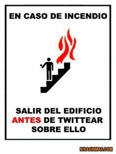 """En caso de incendio: antes de + infinitive; Use with AP Spanish, """"La ciencia y la tecnología'"""