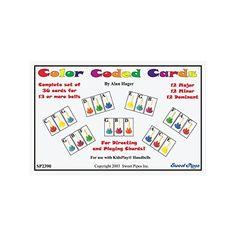 Rhythm Band, farbkodierte Karten, Barglocke 36 Akkorde