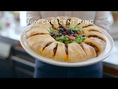 Taco Crescent Ring recipe from Pillsbury.com