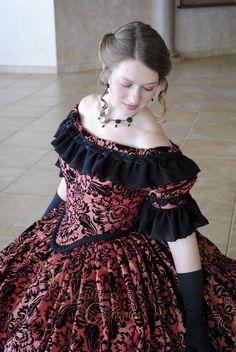 CUSTOM Victorian Bridal Civil War Steampunk Ball by MattiOnline, $475.00
