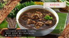 Java Kitchen, 228 Tanjong Katong... Restaurant Vouchers, Salted Egg, Javanese, Japchae, Crackers, Soup, Eggs, Beef, Ethnic Recipes