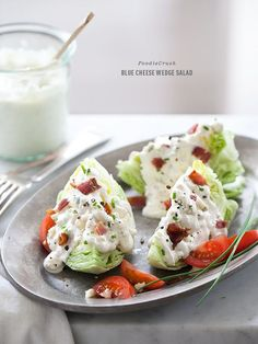 Classic Blue Cheese Wedge Salad